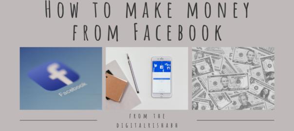 Make money from Facebook