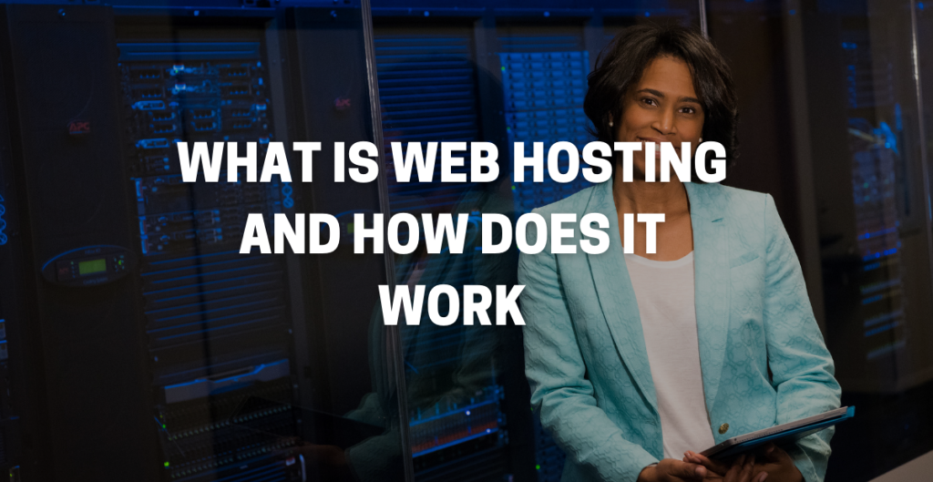web hosting is for storing space for website data.
