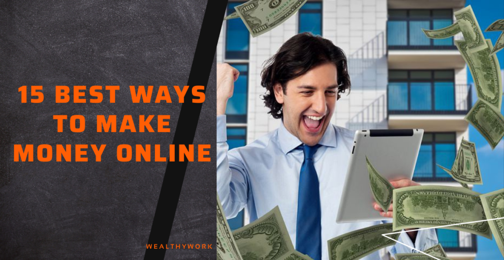 Different ways to make money online at home.