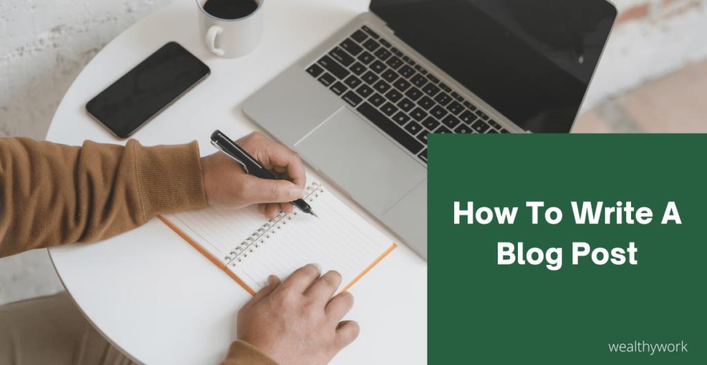 Create a blog post on BlogSpot.