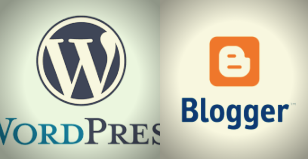 who is the best WordPress vs blogger