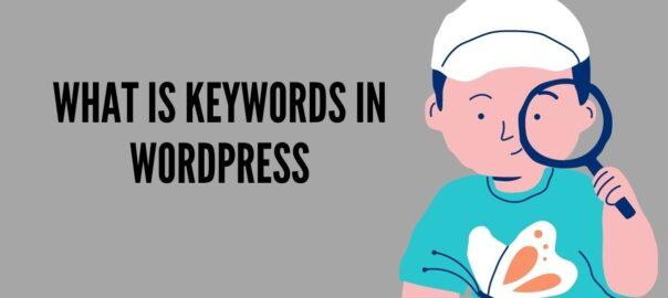 What is Keywords