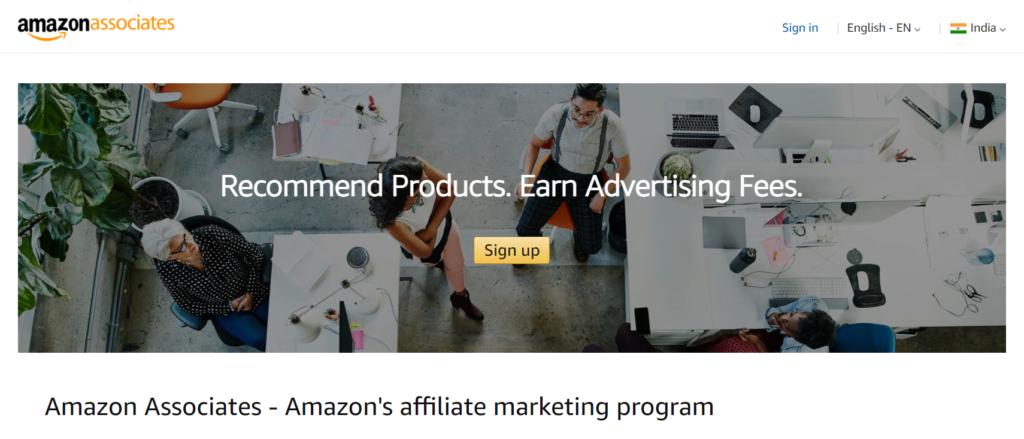 How to earn money from amazon using amazon associate.