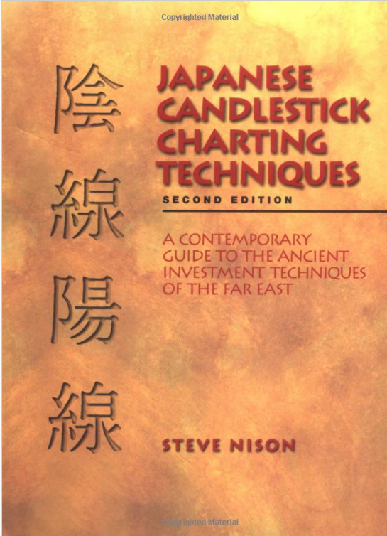 Japanese candle chart pattern best book