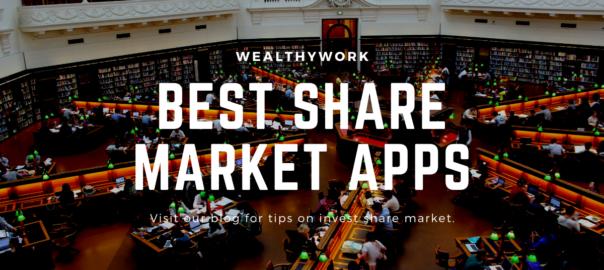 Best share market apps.
