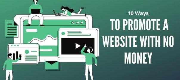 Promote a website