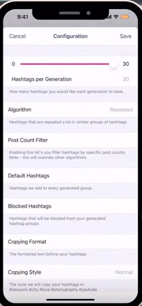 Instagram hashtag algorithm