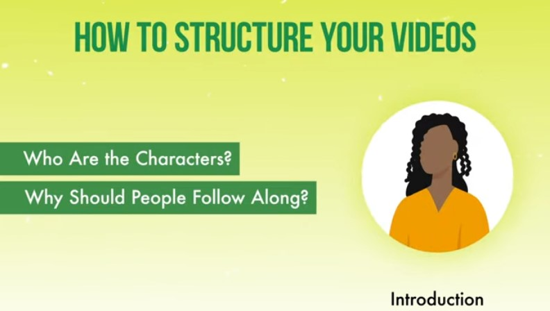 Structure of your Instagram video.
