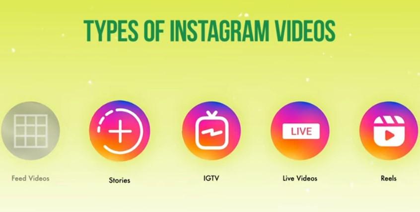 Types of Instagram videos