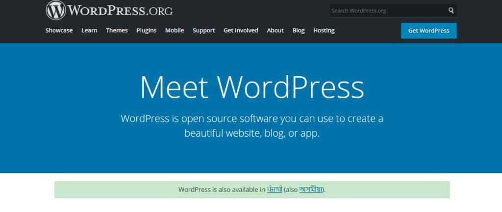 Wordpress.org Best blogging platform