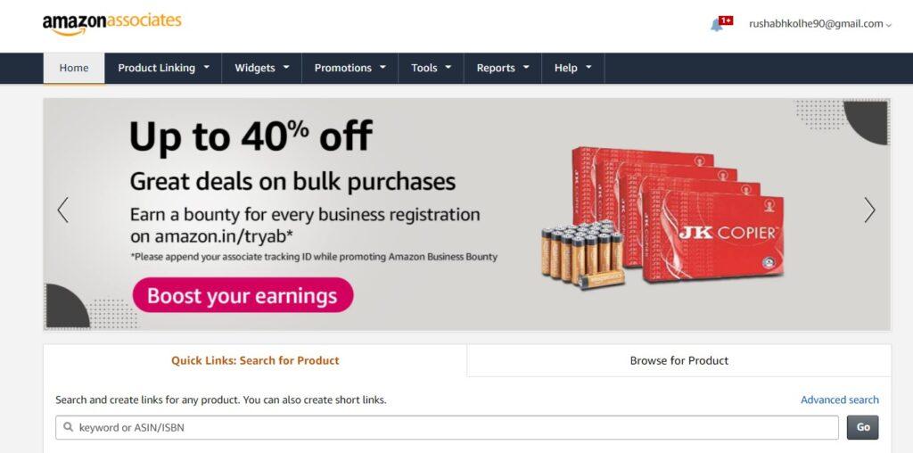 Affiliate Marketing With Amazon