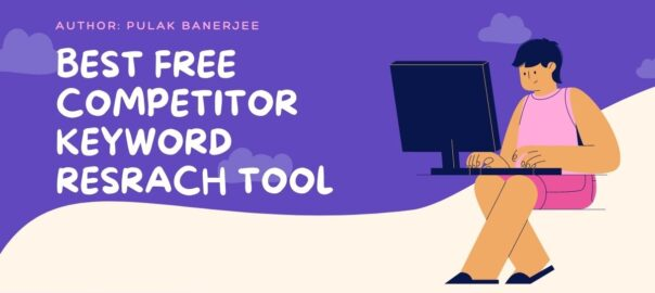 Free competitor keyword research tools.