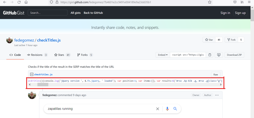 FEDE GOMEZ has created a free tool for checking title tag generated by google.