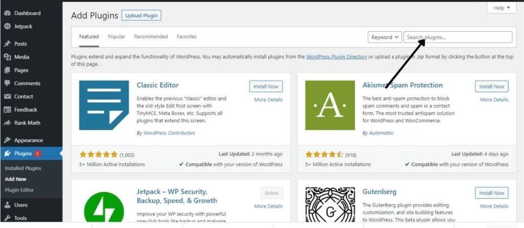 Search plugins related to your ideas.