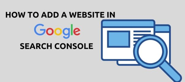 How to add website in google search console