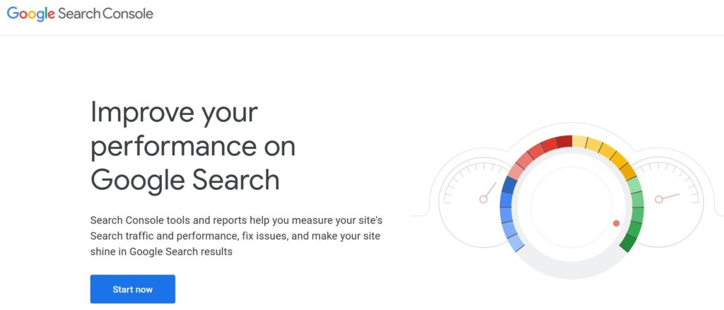 Google search console verification.