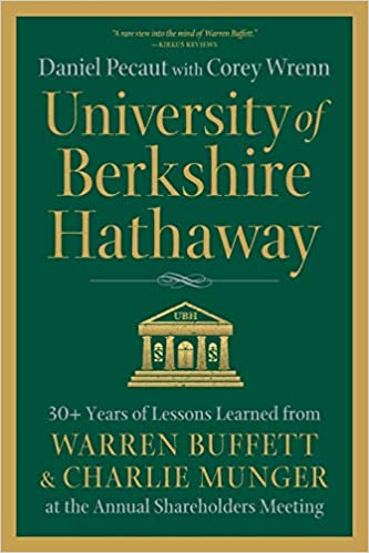 Berkshire Hathaway University best book for investing.