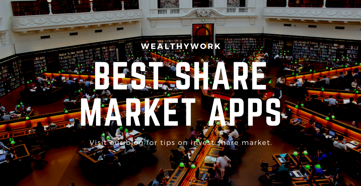 Best share market tradind apps.