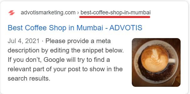 Better links looks on google.