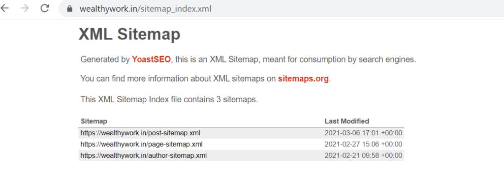 How to add wordpress seo xml sitemap.